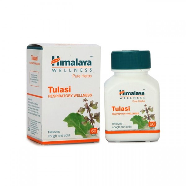 Himalaya Wellness Pure Herbs Tulasi Respiratory Wellness Tablet