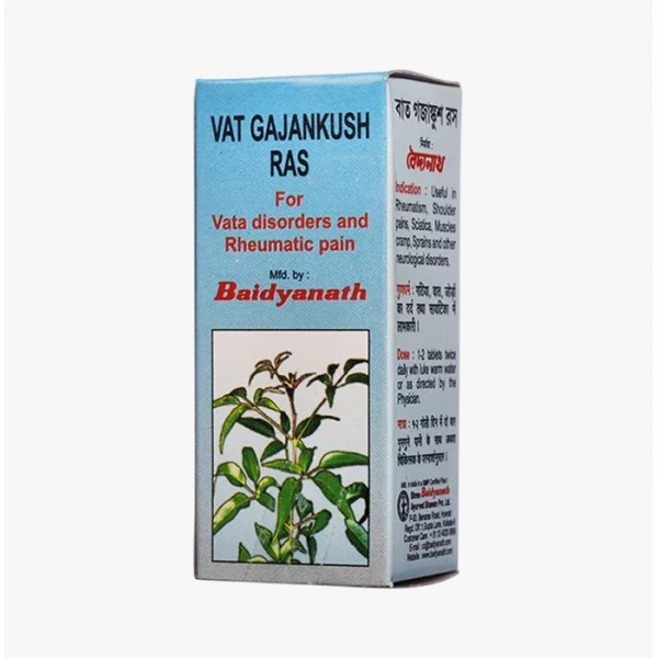 Baidyanath Vat Gajankush Ras Tablet Pack of 2
