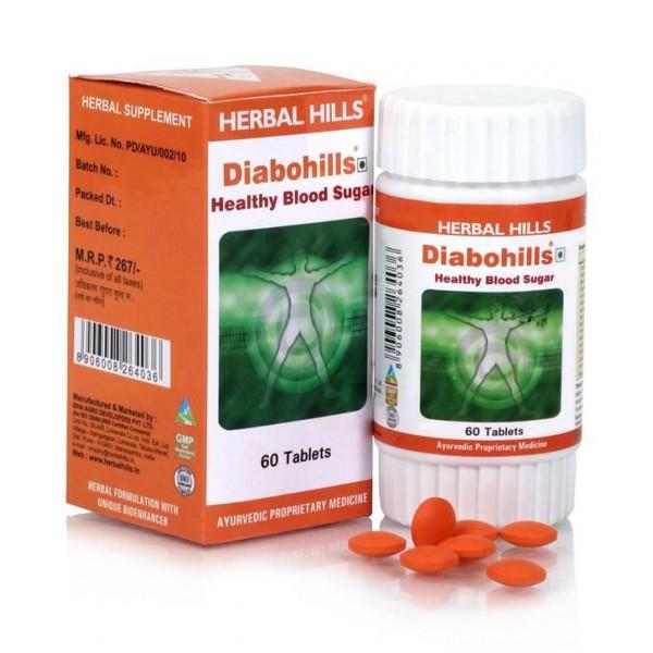 Herbal Hills Diabohills Tablet