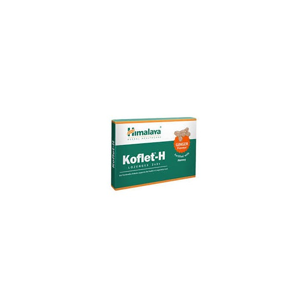 Himalaya Koflet-H Lozenges Ginger Pack of 6