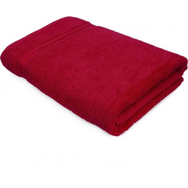 Swiss Republic Cotton Bath Towel  (Red)