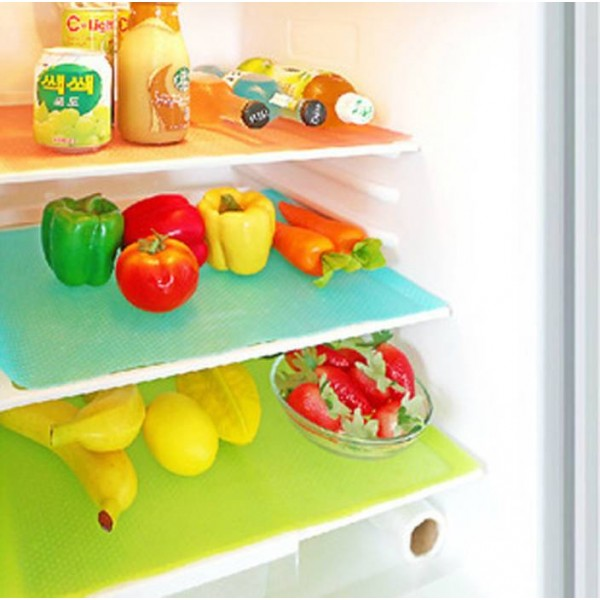 Yellow Weaves PVC Fridge Mat Yellow Weaves™ Refrigerator Drawer Mats