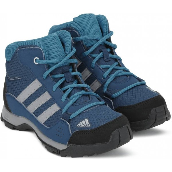 ADIDAS Boys & Girls Lace Running Shoes  (Blue)