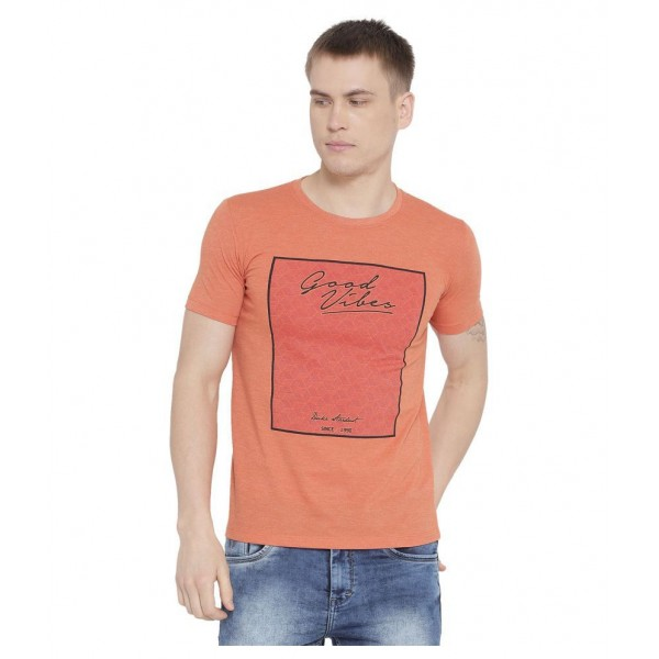 Duke Orange Round T-Shirt
