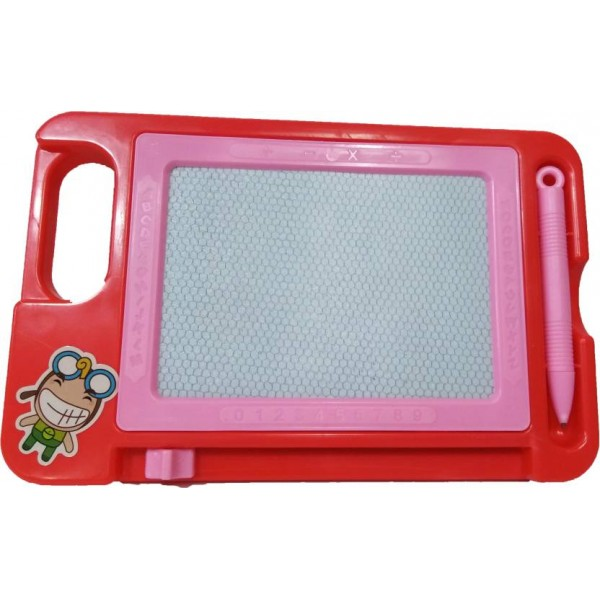 loggas Drawing Magic Slate & Writing Board  (Red)