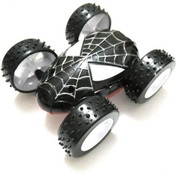 funtastik Spider duble side Pull Back toy  (Black)