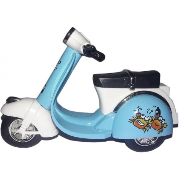 "Green Apple Superior Scooter Scale Model 4"" (Blue)"