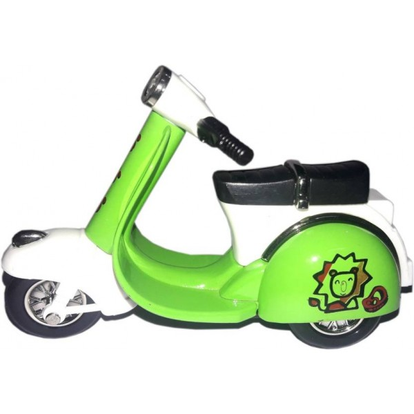 "Green Apple Superior Scooter Scale Model 4"" (Green)"