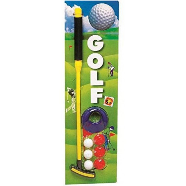 ishancreation Junior Golf Set Ball Putting Game for kids  (Multicolor)