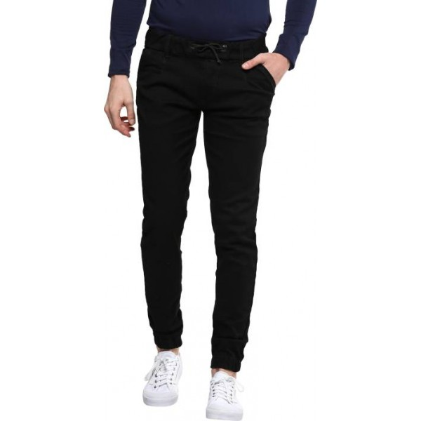 Urbano Fashion Slim Men Black Jeans