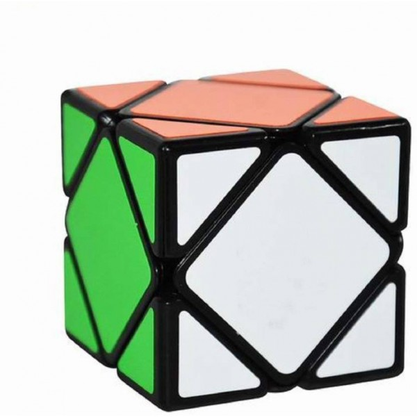 Bestie Toys Ultra Smooth Magic Cube Black Base Puzzle  (1 Pieces)