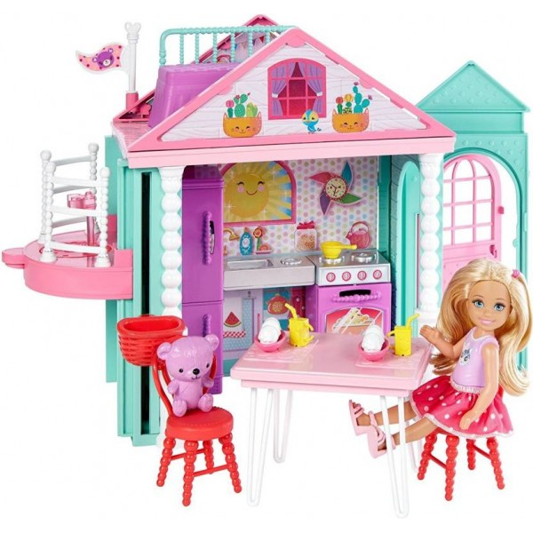 Barbie CHELSEA CLUB PLAYHOUSE  (Multicolor)