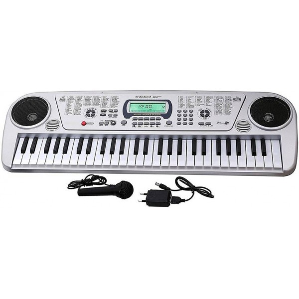 Generic HickoryDickoryBox 54 Keys Musical Keyboard Piano With Microphone