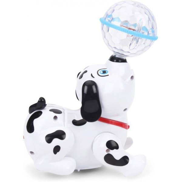 Flipzon Cute Dancing Dog Toy with Reflected 3D Lights & Wonderful Music for Kids, Battery operated, Multicolor  (Multicolor)