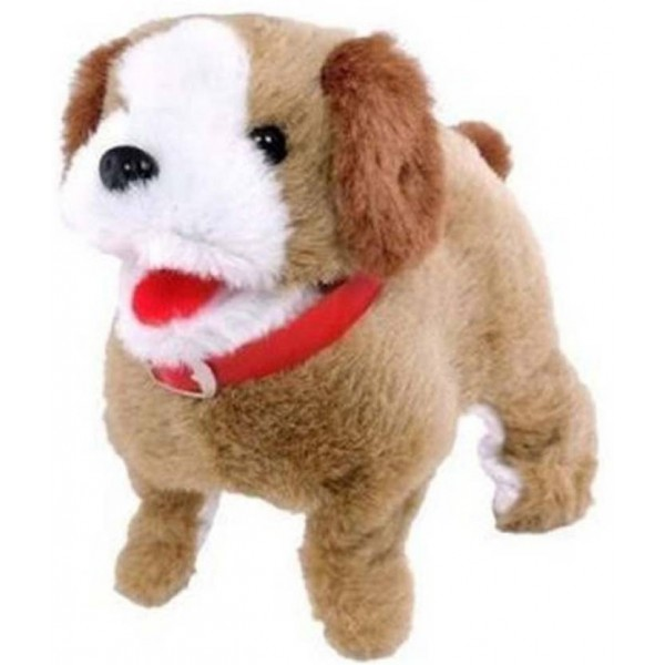 Smilemakers Jumping Puppy Toy  (Brown)