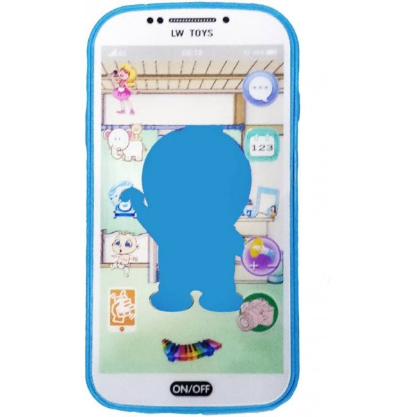 Emob Digital Mobile Phone with Touch Screen Feature, Amazing Sound and Light Toy  (Multicolor)