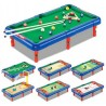 Bestie Toys 6 in 1 Action Table Outdoor Indoor Sports Toys with Multiple Gaming Accessories Board Game
