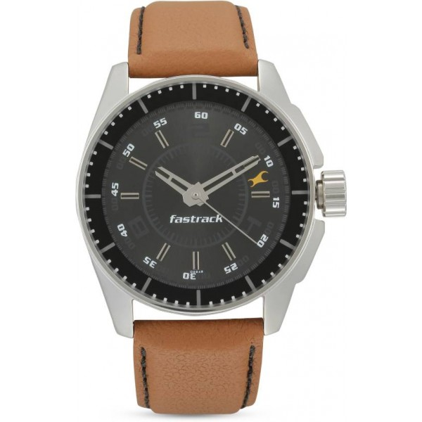 Fastrack NG3089SL05/NK3089SL05 Black Magic Watch - For Men