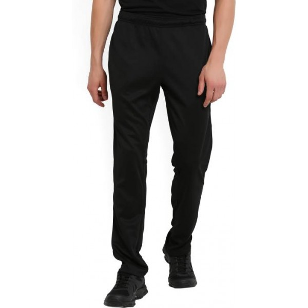 REEBOK Solid Men's Black Track Pants