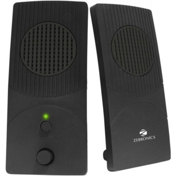 Zebronics ZEB-S300 Laptop/Desktop Speaker  (Black, 2.0 Channel)