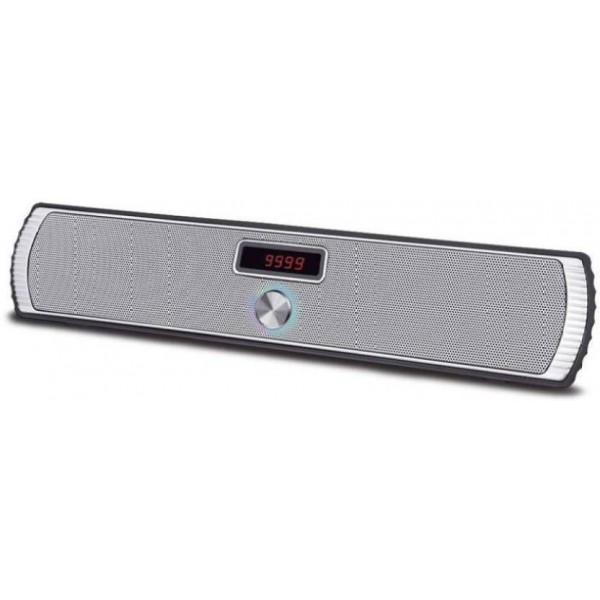 Easymart Bluetooth Portable Speaker Wireless Soundstick BT 14 Bluetooth Laptop/Desktop Speaker  (Grey, Mono Channel)
