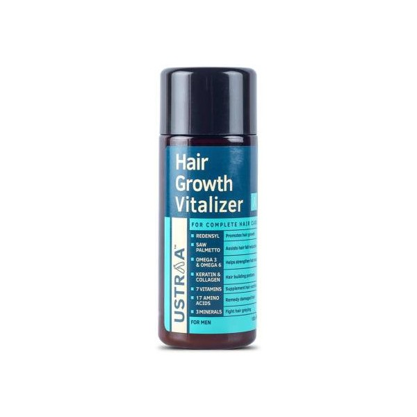 USTRAA Hair Growth Vitalizer - 100ml - Boost hair growth, Prevents hair fall