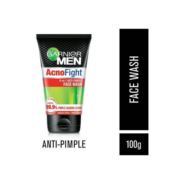 Garnier Men Men Acno Fight Anti-Pimple Face Wash  (100 g)