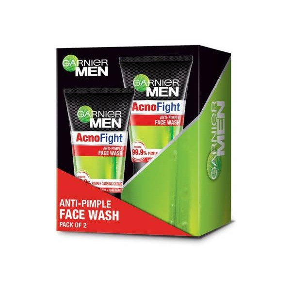 Garnier Men Men Acno Fight Anti-Pimple Face Wash  (200 g)