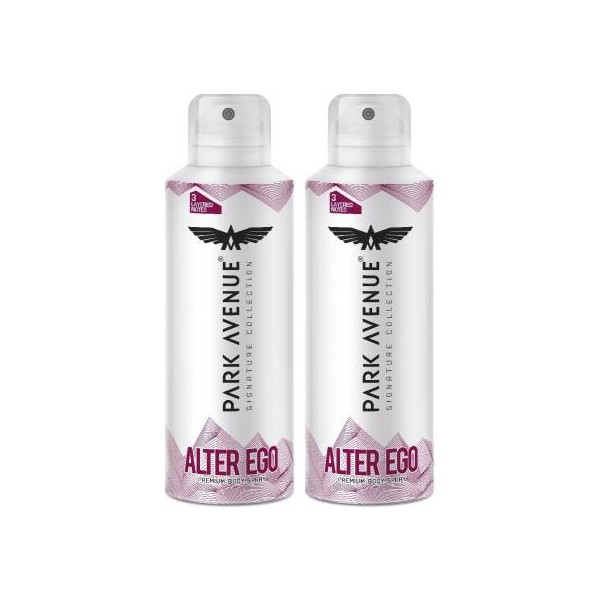 PARK AVENUE Signature Deo Alter Deodorant Spray - For Men & Women  (300 ml, Pack of 2)