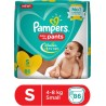 Pampers Pants Diaper - S  (86 Pieces)