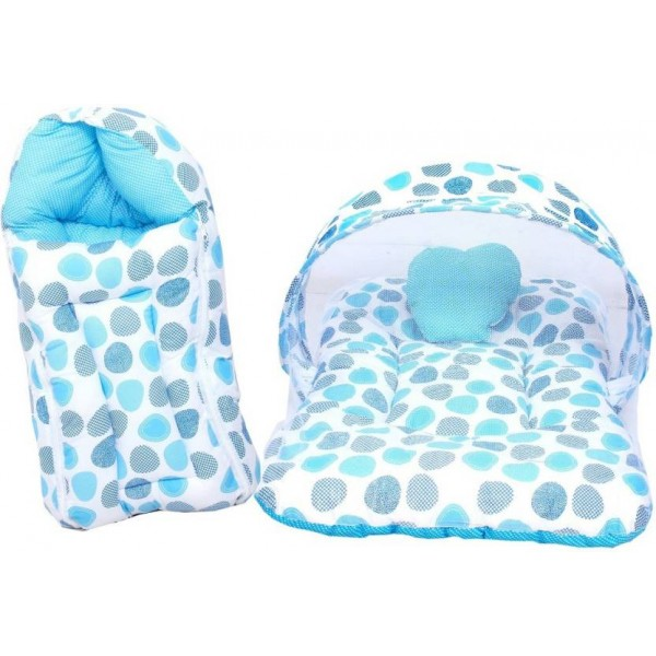 RBC RIYA R Cotton Bedding Set  (Blue)