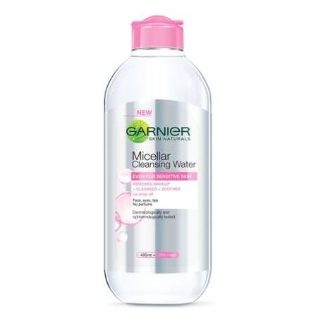 GARNIER Skin Naturals, Micellar Cleansing Water Makeup Remover  (400 ml)