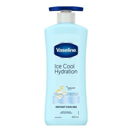 Vaseline Ice Cool Hydration Lotion  (400 ml)