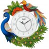 AJANTA Analog 35 cm X 35 cm Wall Clock  (Multicolor, With Glass)
