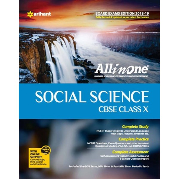 CBSE All In One Social Science Class 10 for 2018 - 19  (English, Paperback, MADHUMITA)