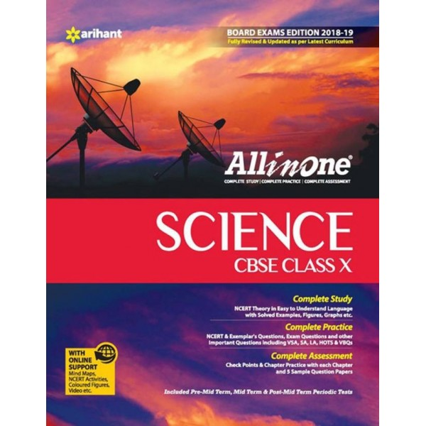 CBSE All In One Science Class 10 for 2018 - 19  (English, Paperback, Arihant Experts)