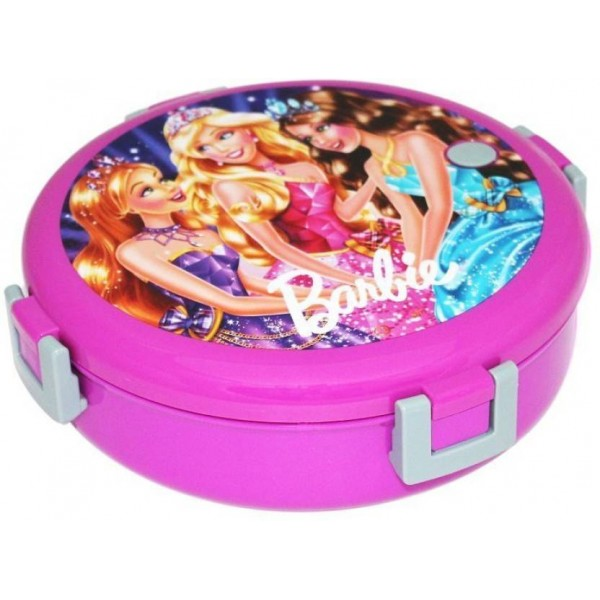 qexclusive LUNCH BOX CARTOON ROUND 2 Containers Lunch Box  (300 ml)
