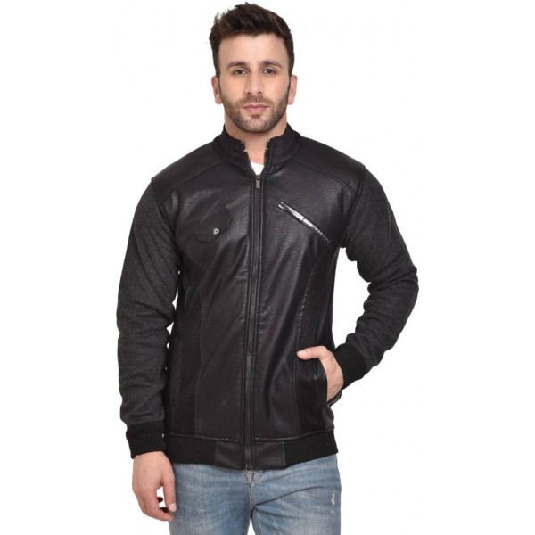 AD & AV Full Sleeve Solid Men Jacket