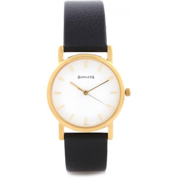 Sonata Nf7987YL02CJ Watch - For Men