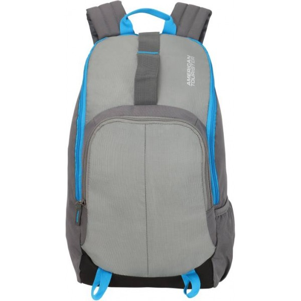 American Tourister Fit Pack Gym 21 L Backpack  (Grey)