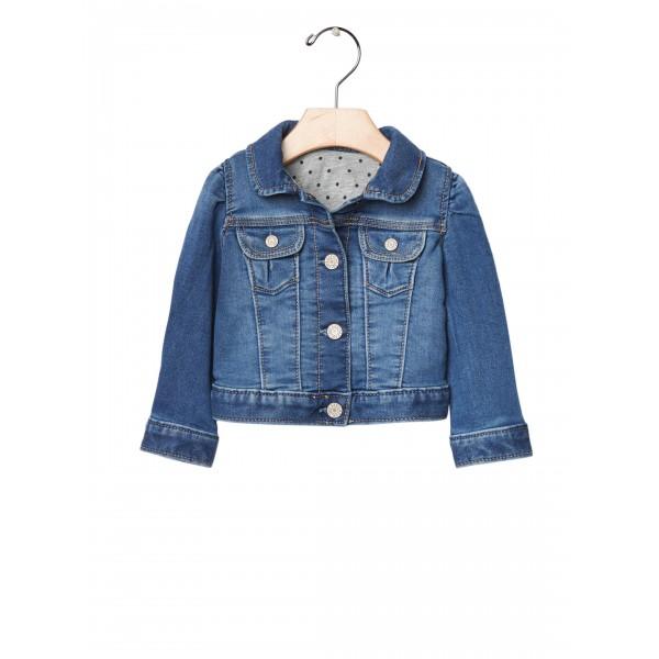 GAP Blue Baby 1969 Her First Denim Jacket