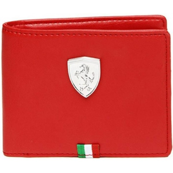 Puma Men Red Artificial Leather Wallet  (3 Card Slots)