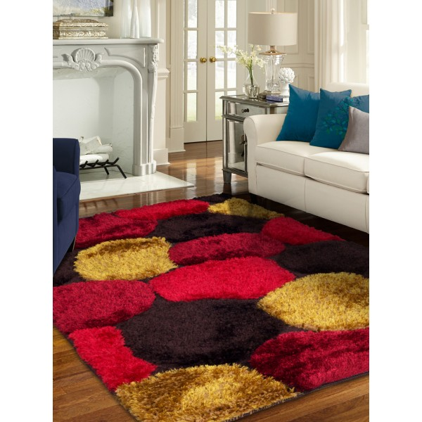 Story@home Multicolour Patterned Carpet