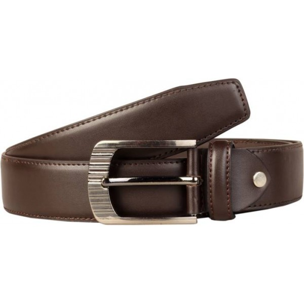 Scharf Men Casual Brown Artificial Leather Belt