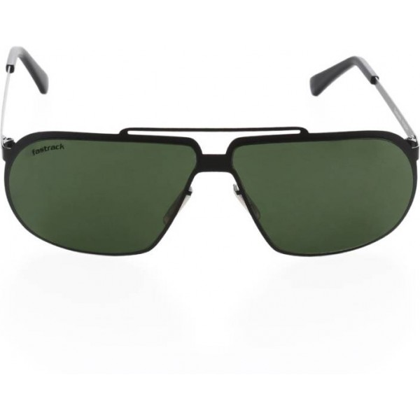 Fastrack Rectangular Sunglasses  (Green)
