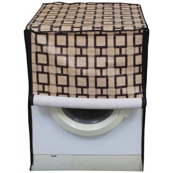 Glassiano Front Loading Washing Machine Cover  (Multicolor)
