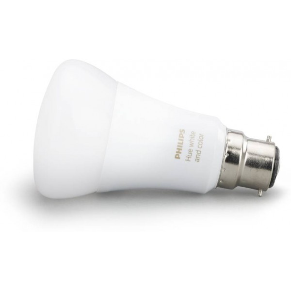 Philips Hue Base B22 10-Watt(White and color ambience)