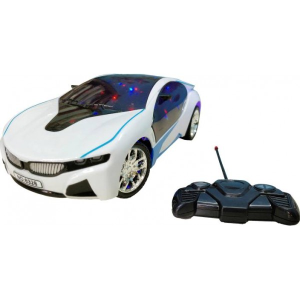 Bonkerz Remote Control Famous Car Bmw I8 Electric Chargeable 3D Lightning  (Multicolor)