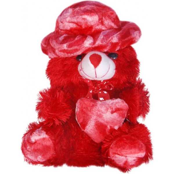HTC Harshit Soft Toy - 32 cm  (Red)