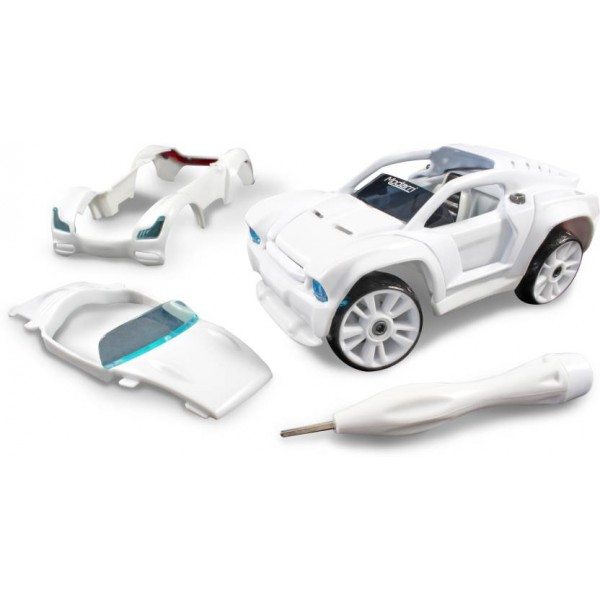 Modarri S2 Paint-It Muscle Car Delux Single - Build Your Car Kit Set  (Multicolor)